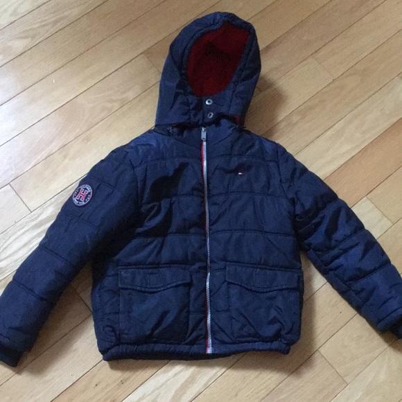 375ab1d0 Tommy Hilfiger Jackets & Coats | Boys Puffer | Poshmark